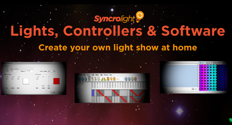 Christmas Light Show Kit.Syncrolight Lights Controllers And Software For
